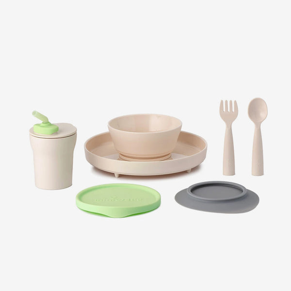 Little Foodie PLA 7-Piece Set - Key Lime