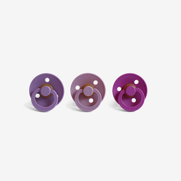 BiBS Pacifiers Set of 3 - Blossom