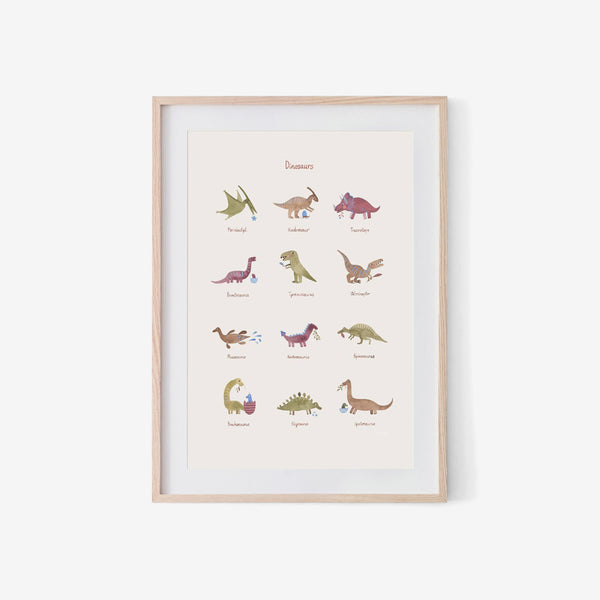 Small Poster - Dinosaurs