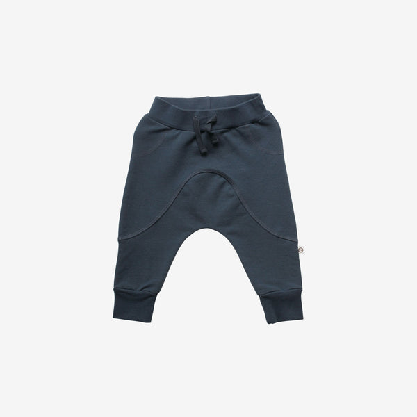 Organic Slub Baby Sweats - Midnight