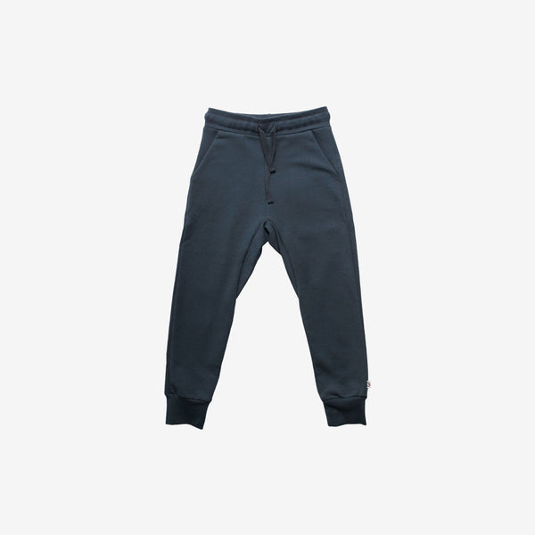 Organic Slub Cotton Sweats - Midnight