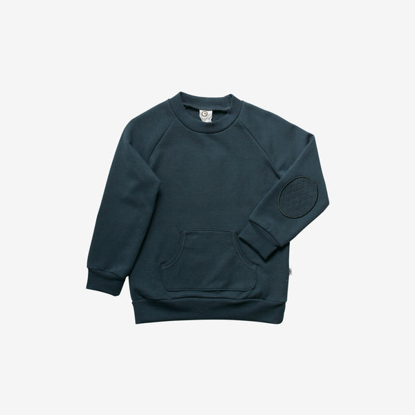Organic Slub Sweatshirt - Midnight