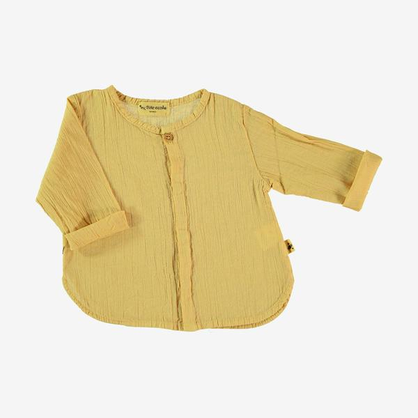 Santorini Long-sleeve Shirt - Maize