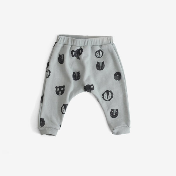 Animals Organic Sweat Pants - Storm
