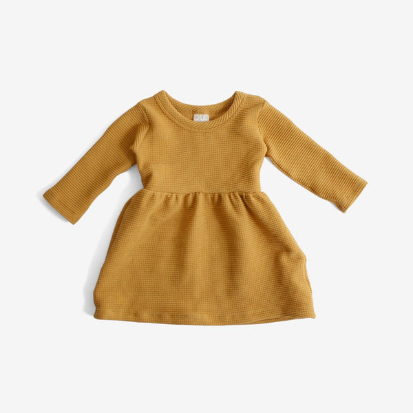 Organic Thermal Dress - Gold