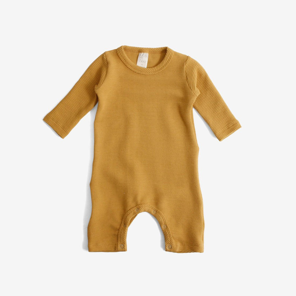 Organic Thermal Jumpsuit - Gold