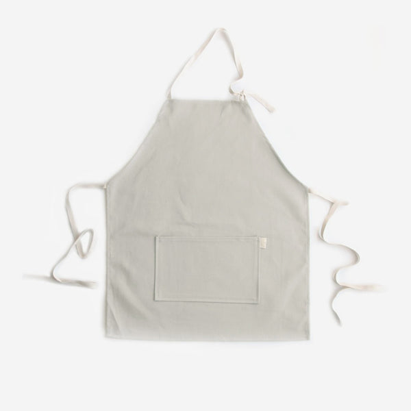Brushed Twill Kid's Apron - Taupe