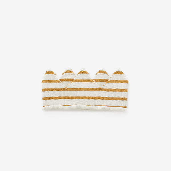 Wild Things Crown - Ochre Stripe