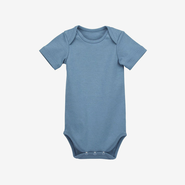 Organic Pima Cotton Onesie - Blue