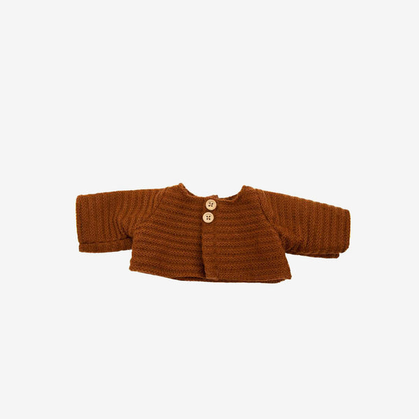 Dinkum Doll Cardigan - Chestnut