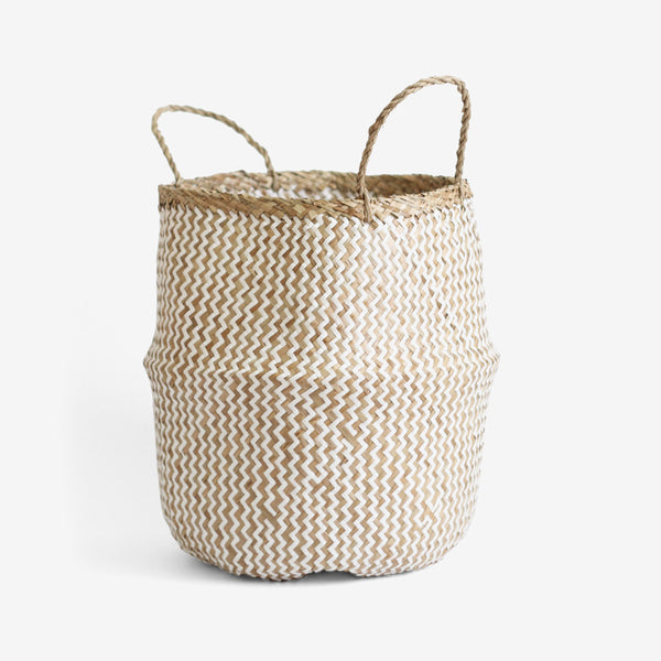 ZigZag Belly Basket - Medium