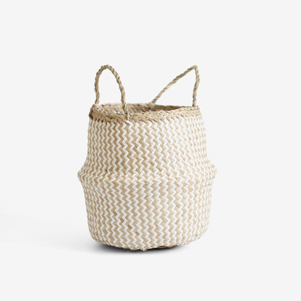 ZigZag Belly Basket - Small