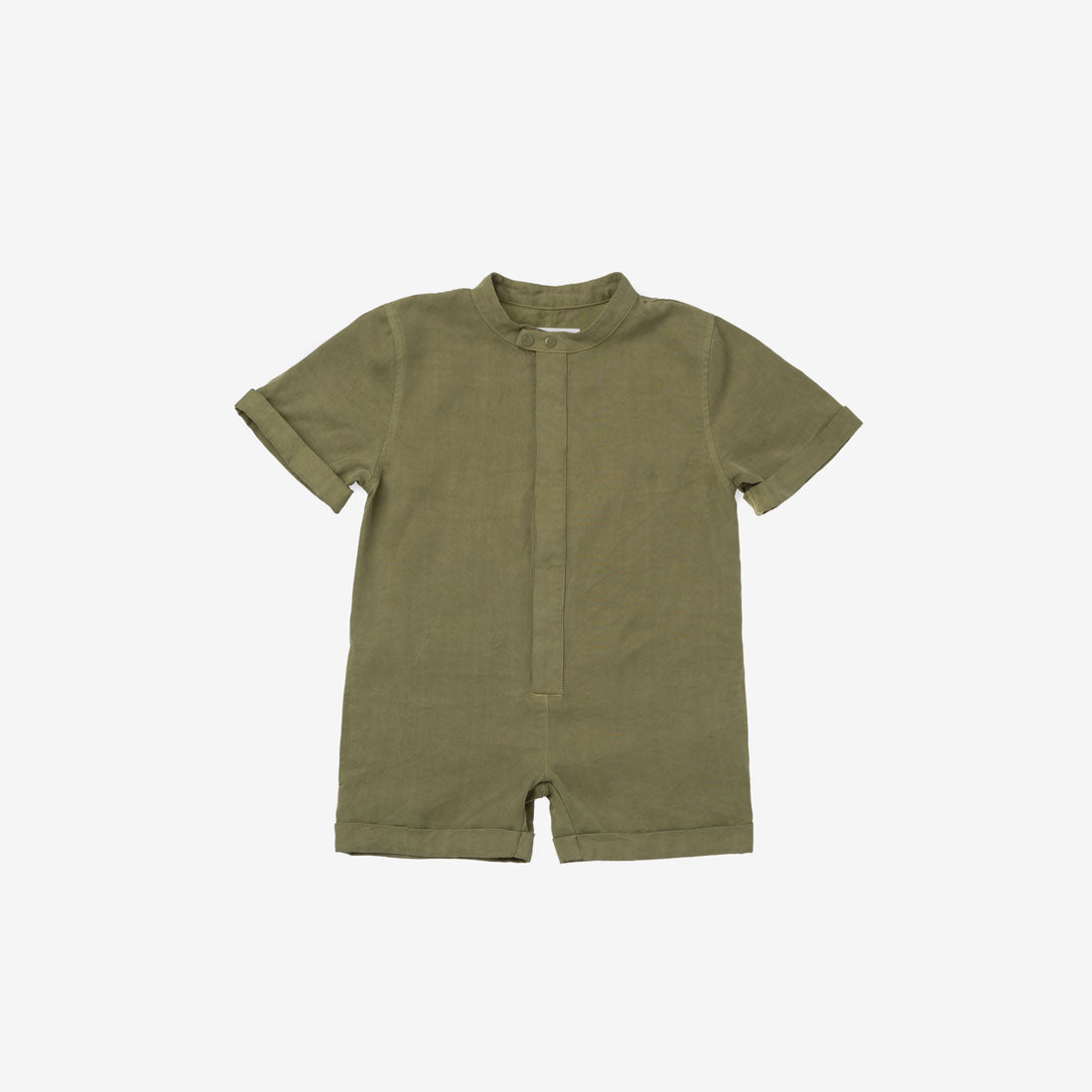 Mechanic Short Jumpsuit - Olive