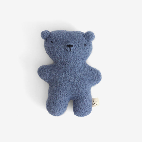 Little Woolie Bear - Faded Indigo