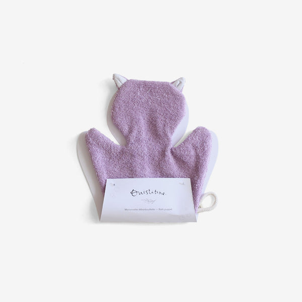 Bath Puppet - Kitty Lavender
