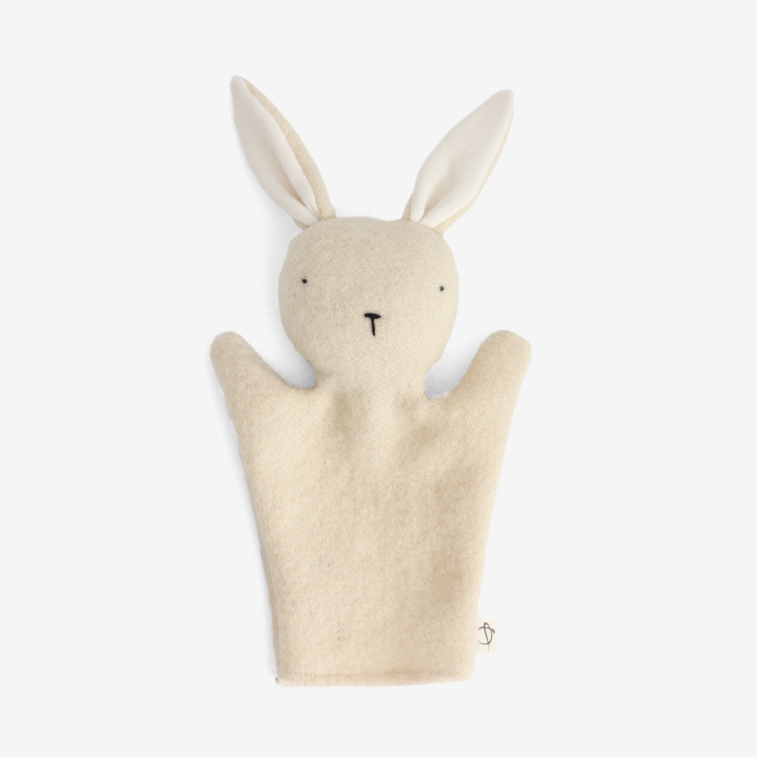 Bunny Puppet - White