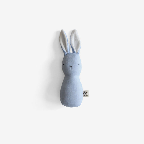 Bunny Rattle - Periwinkle