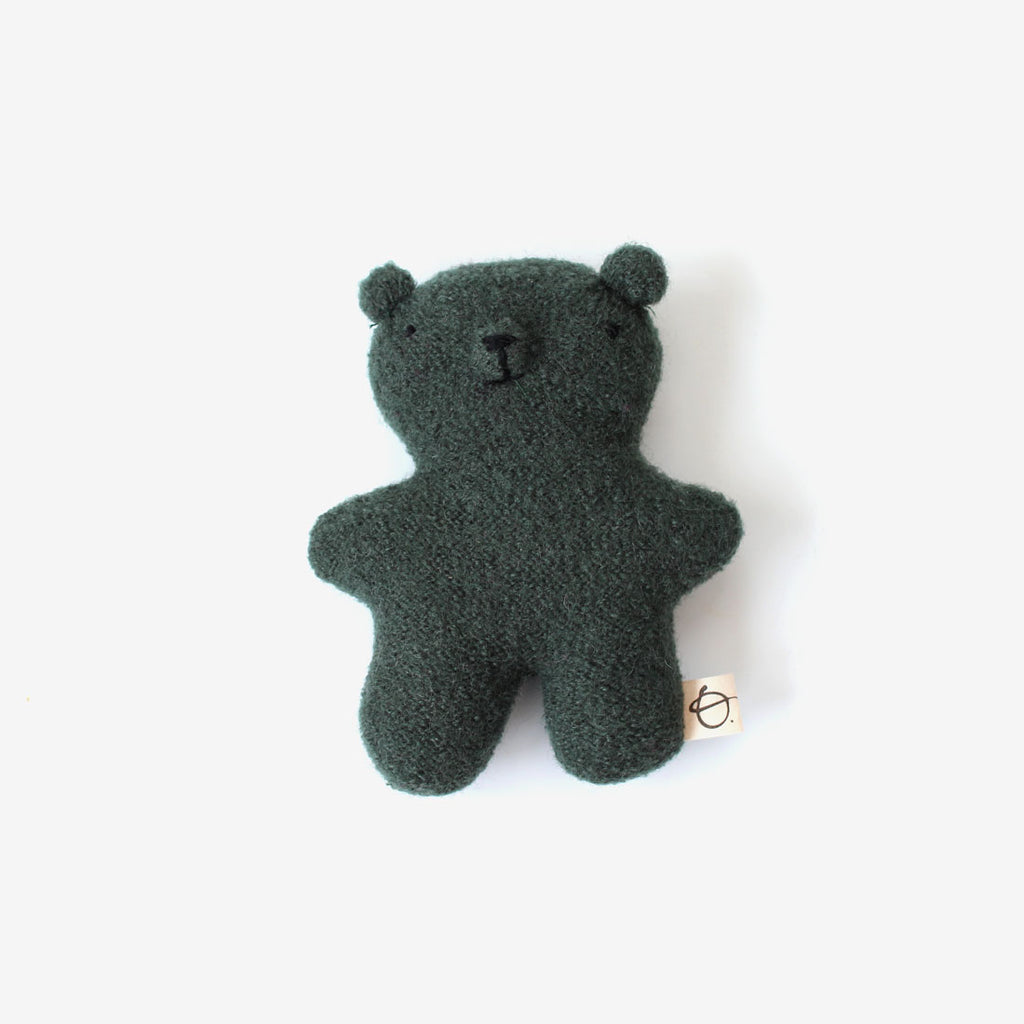 Little Woolie Bear - Spruce