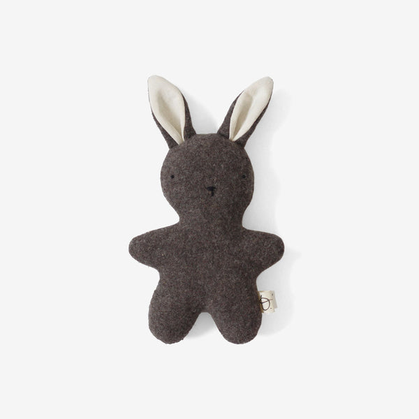 Little Woolly Rabbit - Dark Taupe