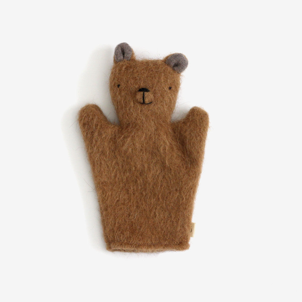 Bear Puppet - Brown