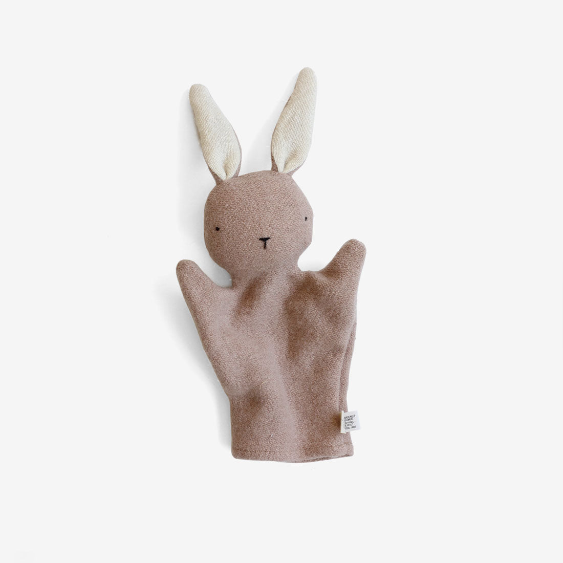 Bunny Puppet - Sandstone