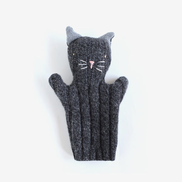 Kitty Puppet - Black