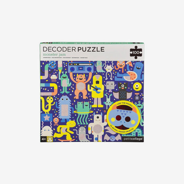 100-Piece Decoder Puzzle - Monster Jam