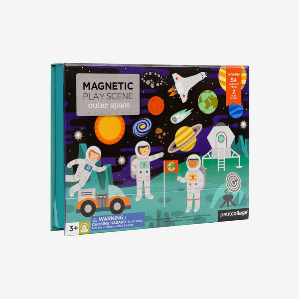 Magnetic Outer Space Play Set