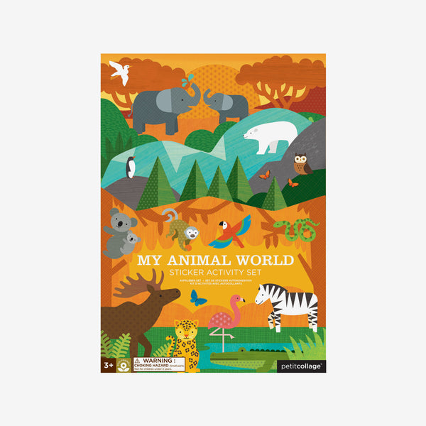 My Animal World Reusable Stickers Activity Set