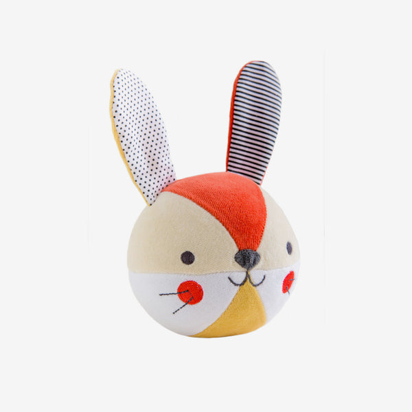 Organic Soft Chiming Ball - Bunny