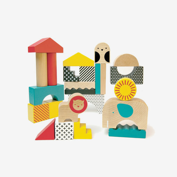 Animal Town Wood Blocks