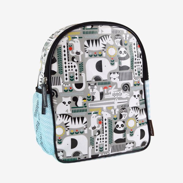 Eco-Friendly Animal-Print Backpack