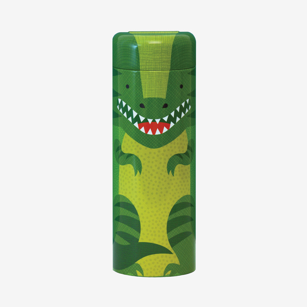 Tin Canister Puzzle - Dinosaur