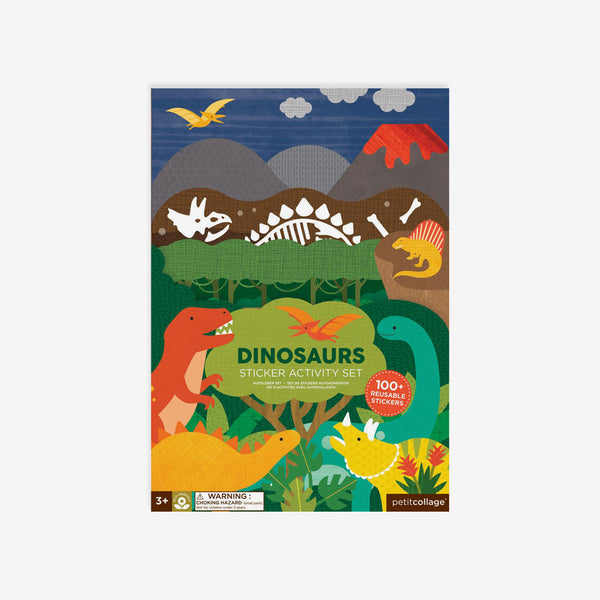 Reusable Stickers Activity Set - Dinosaurs
