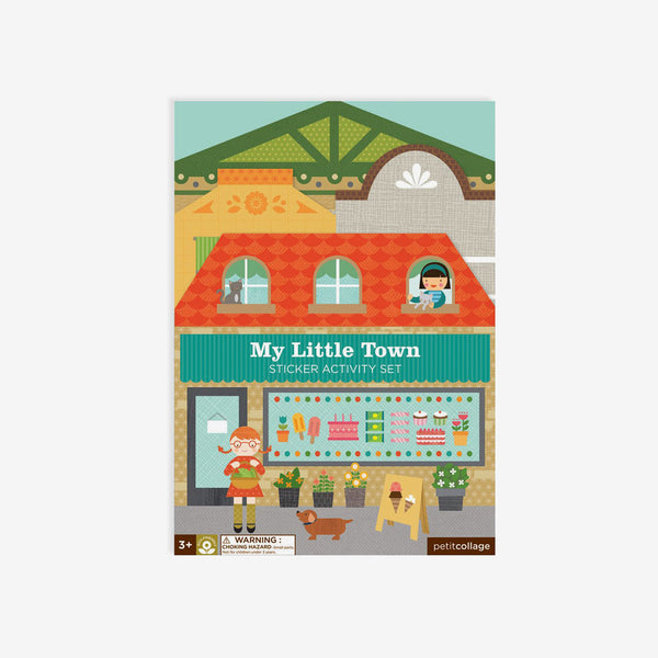 Reusable Stickers Activity Set - My Little Town