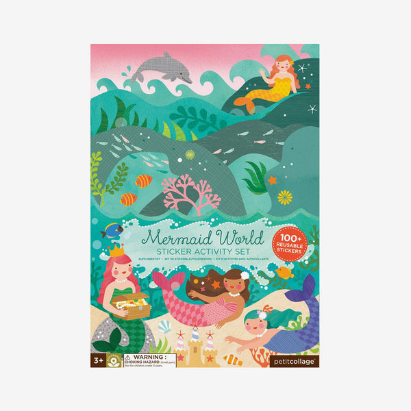 Mermaids Reusable Stickers Activity Set