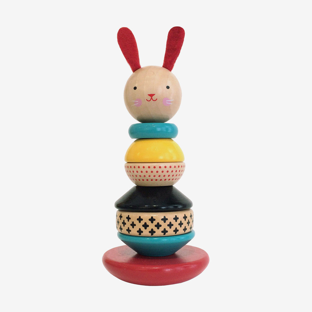 Modern Bunny Stacker Toy