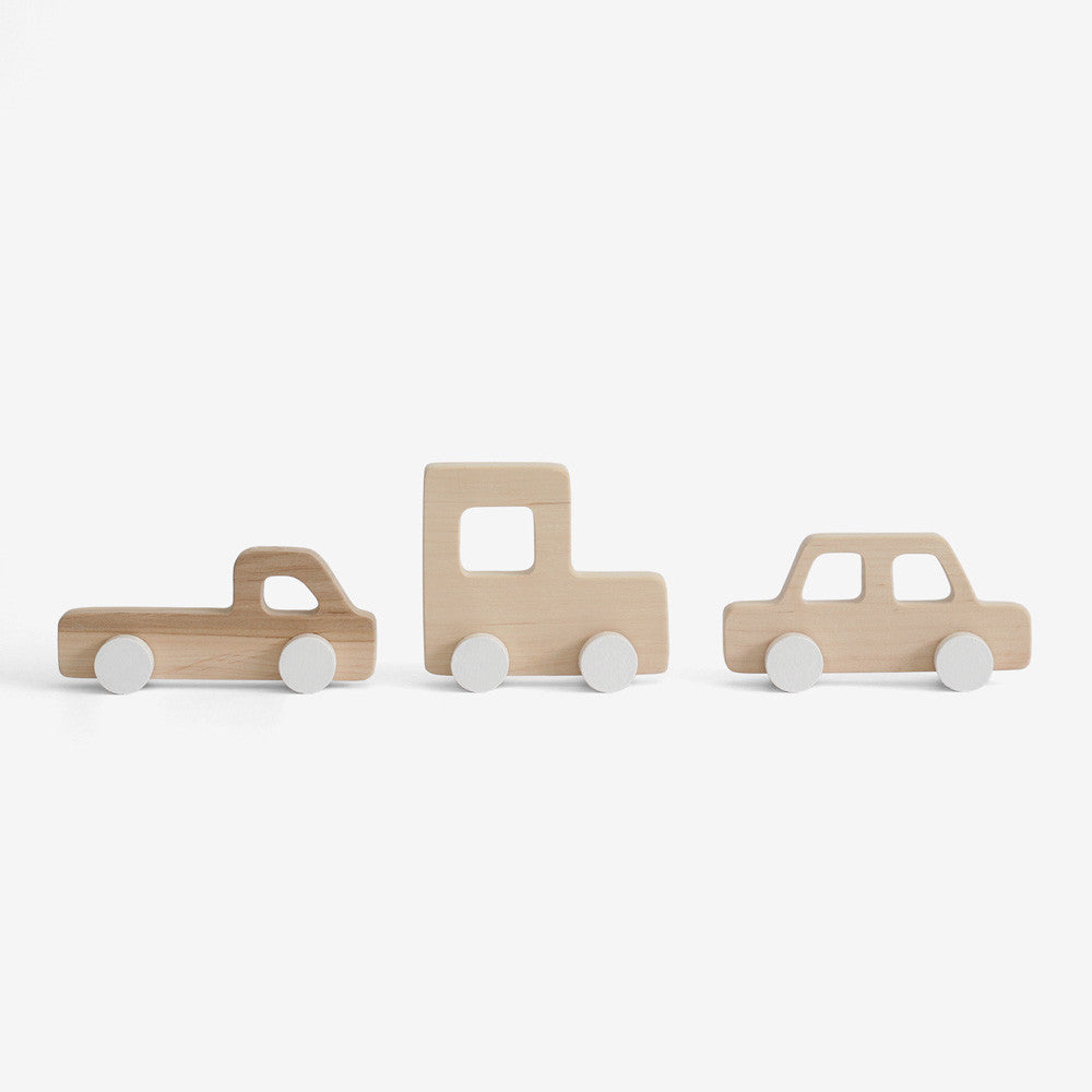 Retro 80's Cars Set of 3