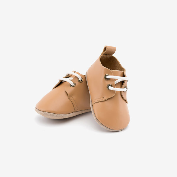 Classic Brown Oxfords - Baby