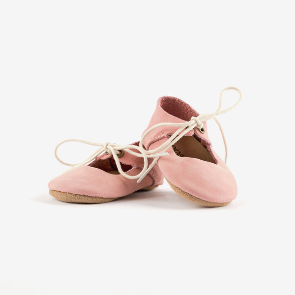 Mary Jane Baby Shoe - Blush