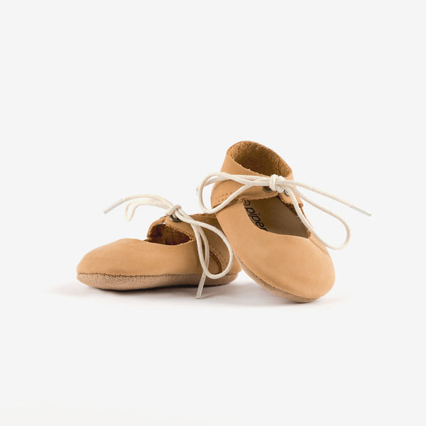 Mary Jane Baby Shoe - Fawn