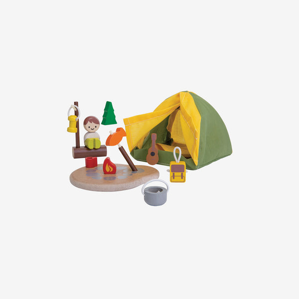 Dollhouse Camping Set