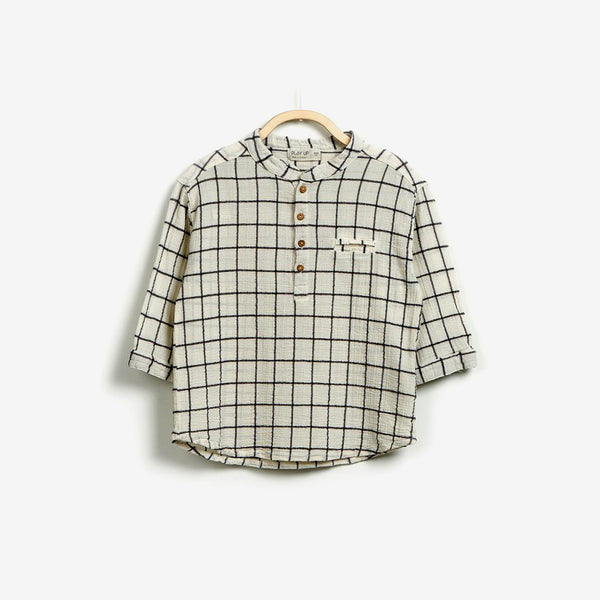 Artisian Grid Long-sleeve Shirt