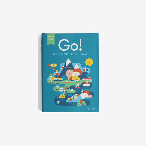 Go! My Adventure Journal - Blue