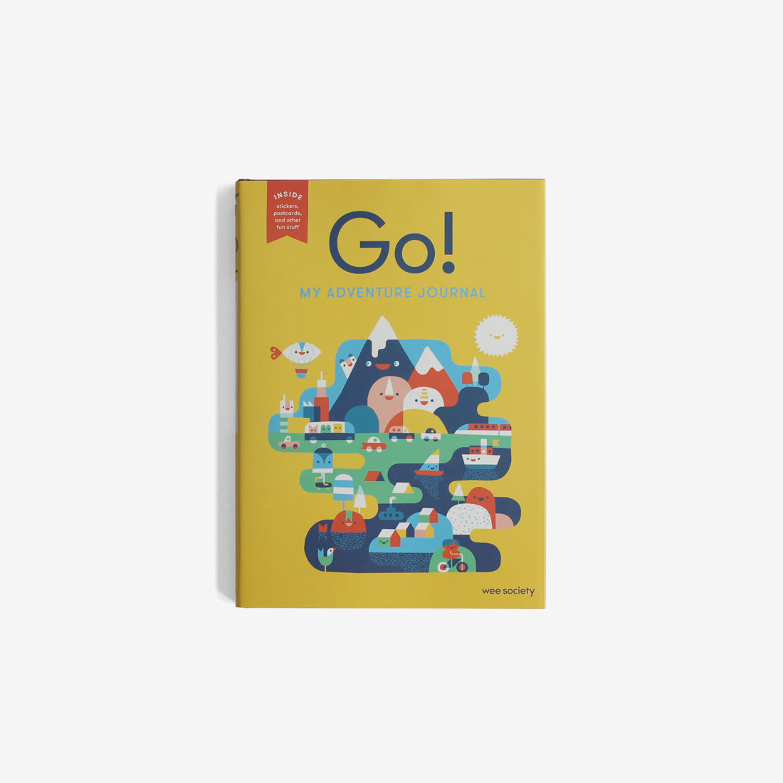 Go! My Adventure Journal - Yellow
