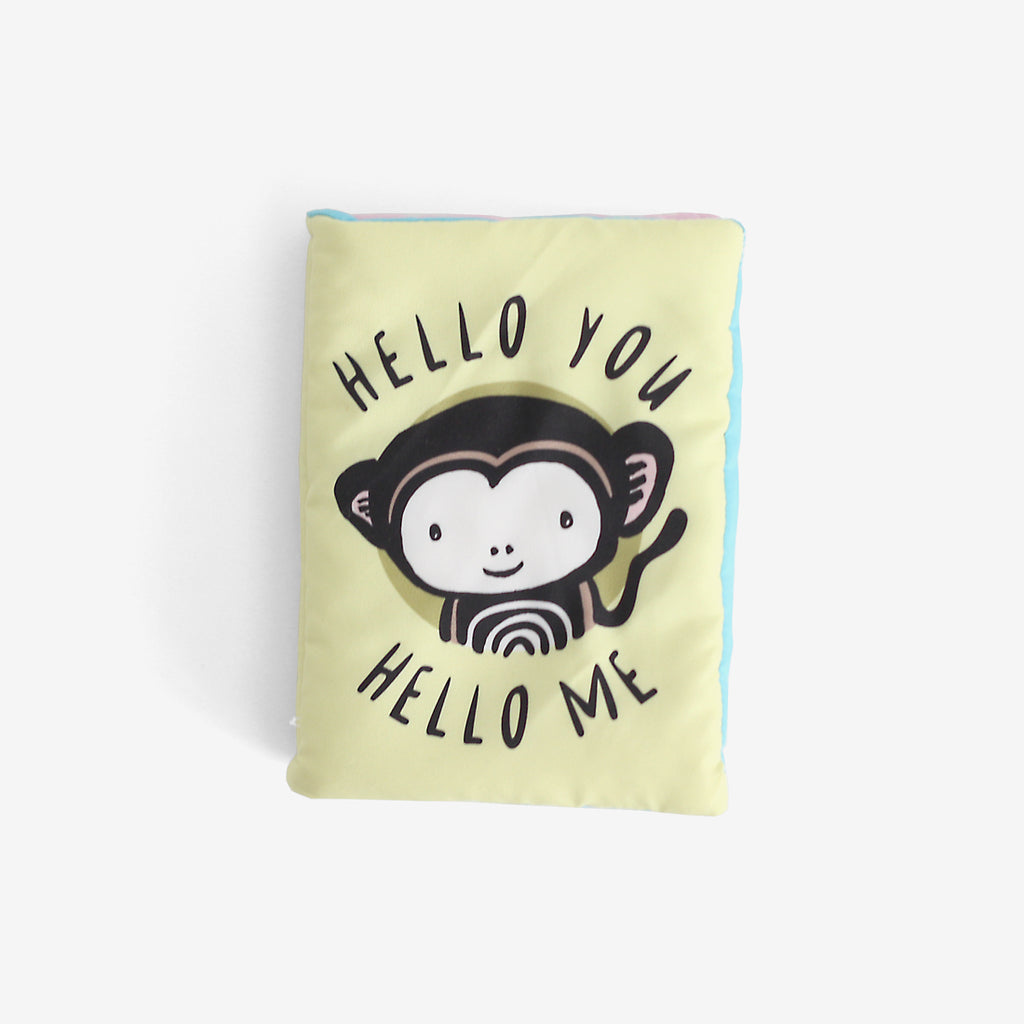 Baby's First Soft Book - Hello You, Hello Me