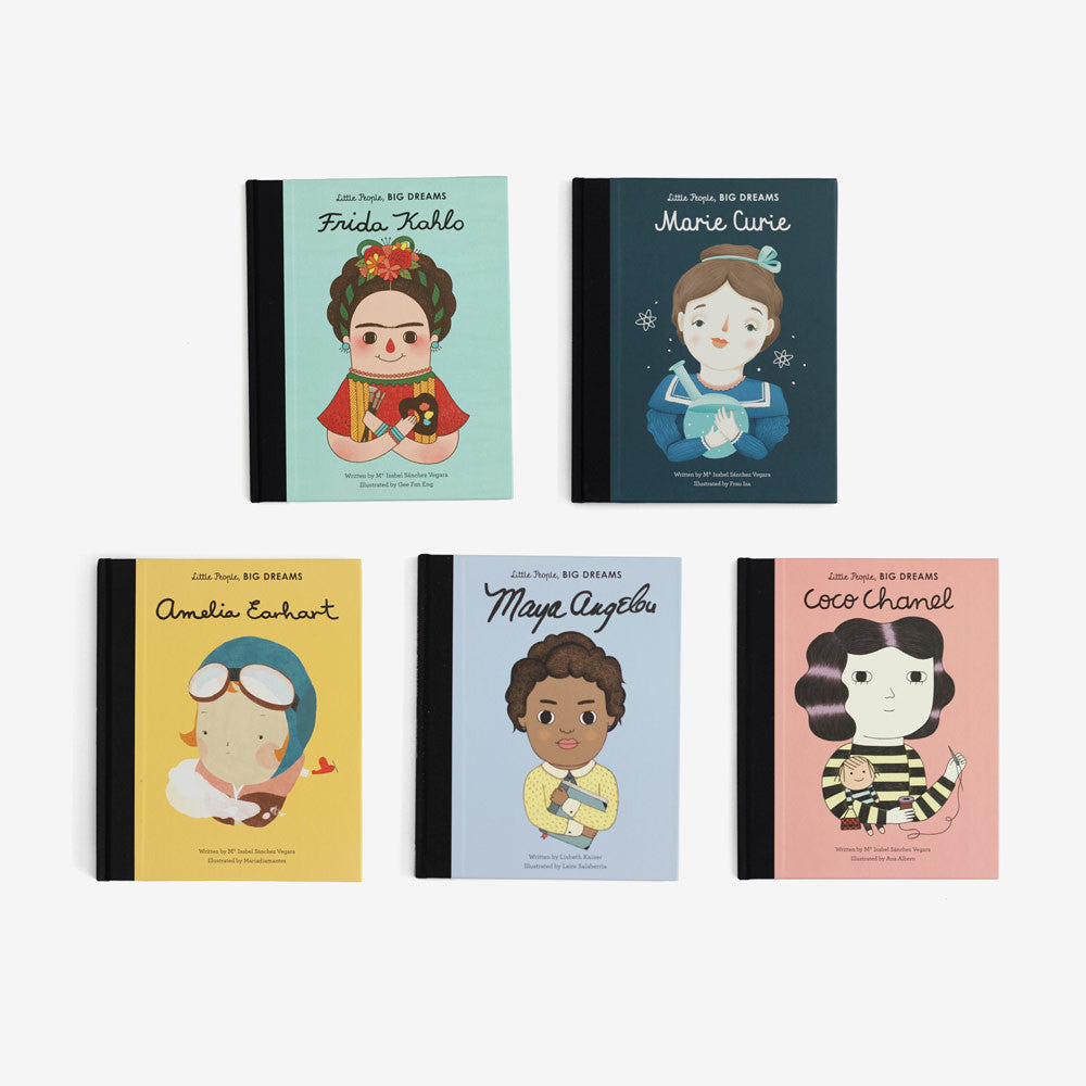 Little People, Big Dreams Set of 5