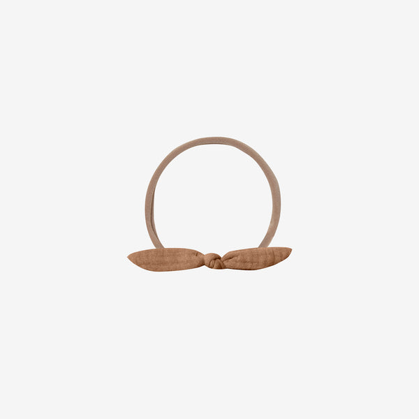 Little Knot Organic Headband - Rust