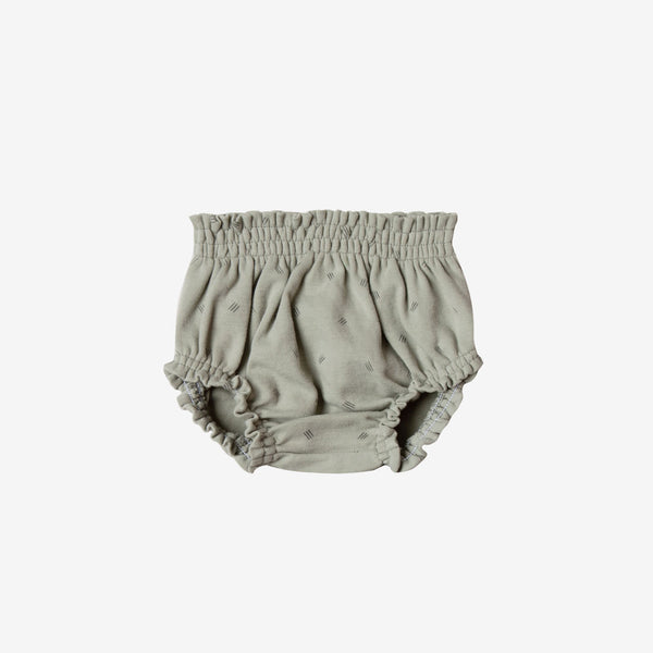Organic Brushed Jersey Bloomer - Sage Dash