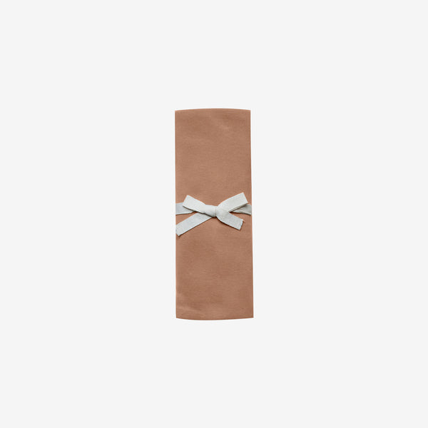 Organic Brushed Jersey Swaddle - Rust